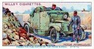 4) Sigaretten plaatje van Wills's sigaretten WO I met een Minerva M-14 pantserwagen van het Be...jpg